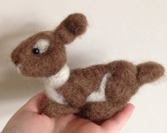 Rabbit soft sculpture