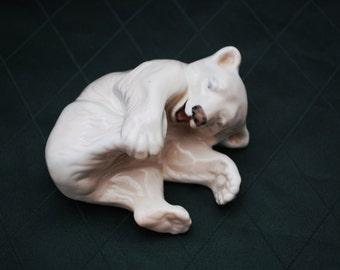 Royal Copenhagen Polar Bear Cub