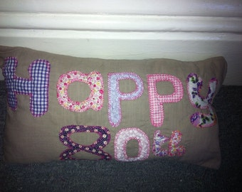 personalised special birthday gift cushions