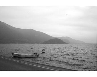 The stillness of the Lake.