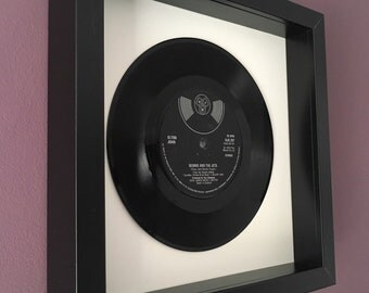 "Elton John ""Bennie And The Jets"" - Framed Original Vinyl Gift"