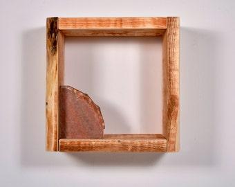 Wooden box | Cube | Bedside table | Shelf |  HOMMERT