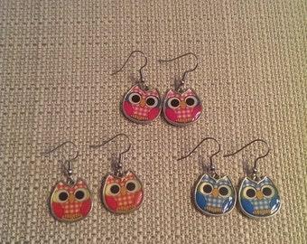 On Sale Owl earrings were 5.00 now 2.50