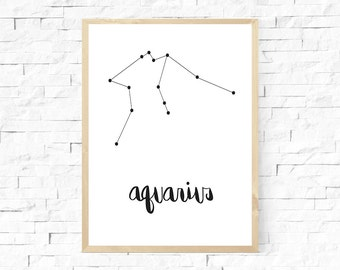 Zodiac Print