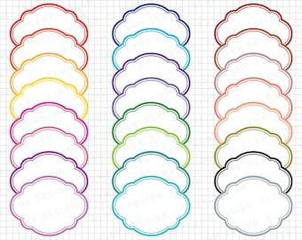 "SALE! Clipart Frame: ""Digital Frame Clip Art"" Clipart Label, Frame Tags, Label Clipart, Digital Borders, Frame Graphics, Digital Tags, Tags"