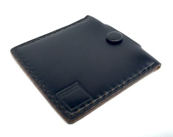 Horween Leather Coin Pouch Case (Black)