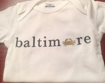Baltimore Crab Bodysuit