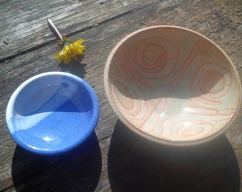 Two Very Little Scottish Pottery Bowls