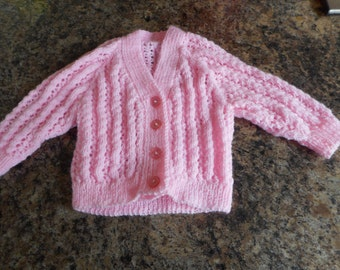 Lacy cardigan for baby girl