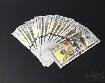 Prop Money ** 25 FULL PRINT ** 100 Bill New Style
