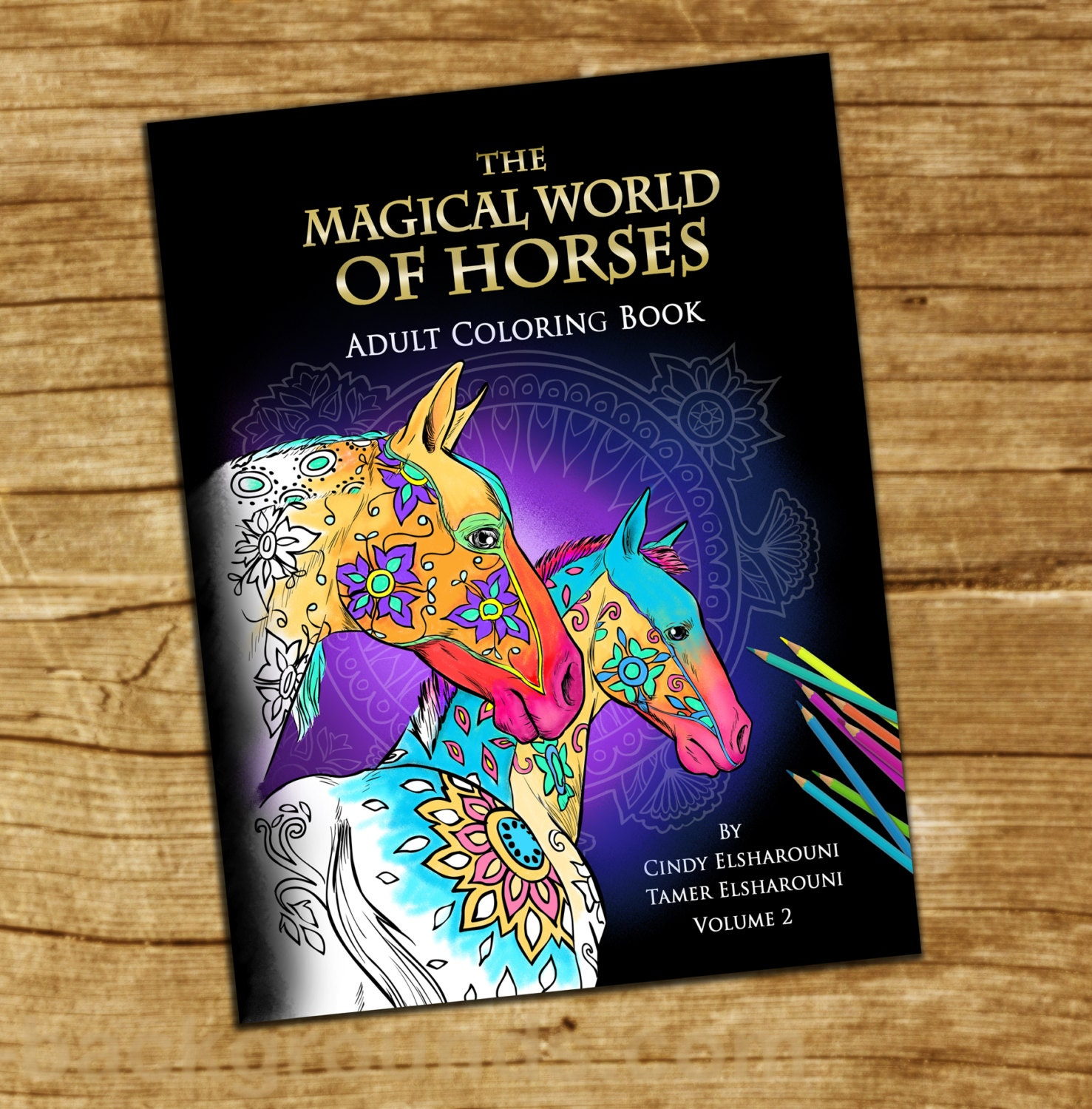 Sw swear word coloring pages etsy - Adult Coloring Book Horses 40 Beautifully Drawn Coloring Pages On Sale