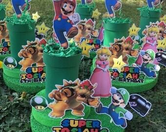 Super Mario Bros centerpiece