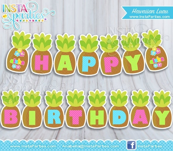 Hawaii party birthday party ideas fiesta hawaiana cumple y fiestas - Decoracion Hawaiana Cumplea Os Cebril Com