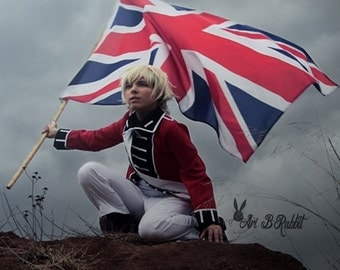 APH Axis Powers Hetalia England Independence war Cosplay Costume