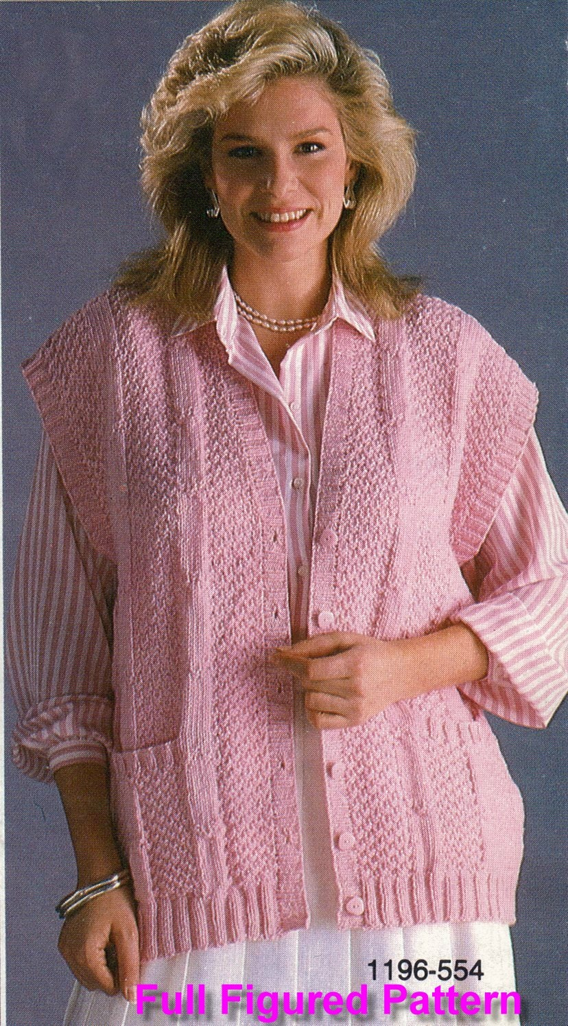 Knitting pattern full figured knitted sweater pattern plus this is a digital file bankloansurffo Gallery