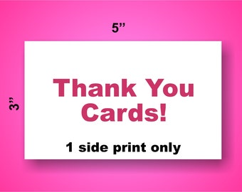 Thank You Cards Design Free!