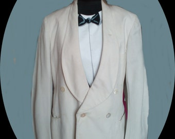 Mens Tuxedo, white , 1930's, SOLD ,do not buy.