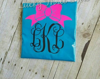 Double Sided Girls Monogrammed Shirt