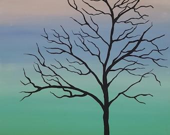 Tree Alone Paining