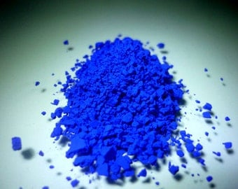Ultramarine Blue - 1oz - All natural pigment - matte
