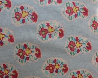 Kaffe Fassett Asha Grey, Cotton Woven Fabric, 1/2 yd.