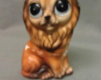 Vintage Lion Figurine