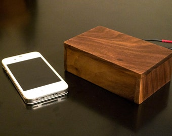 Wooden Bluetooth Hifi Audio Reciever - Walnut
