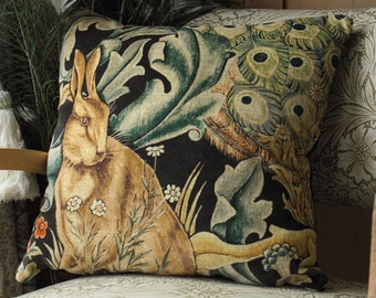 William Morris & Co Forest Velvet Cushion Cover Set of 3