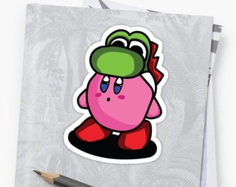 Super Mario Kirby Hat pack