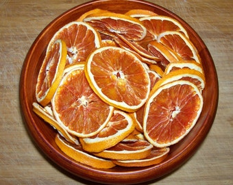 Dried/Dehydrated SunKist Cara Cara DWARF RED NAVEL orange slices ***12 Slices***