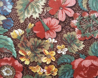 FF126 Concord (5 HALF yards available) Floral Fabric