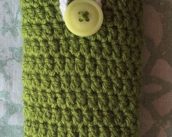 Crochet IPhone 5s cover, mobile case, phone cover, gift, accessories