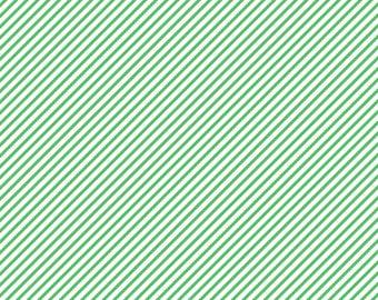 Green Diagonal Lined Cardstock Paper