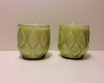 Green Leaf Tea Tree Soy Candle