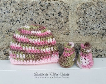 Newborn pink Camo