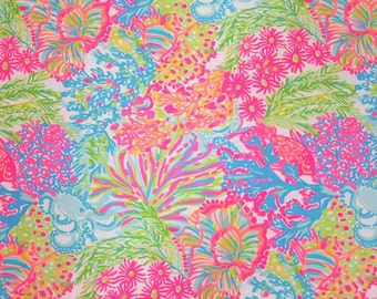 Lilly Pulitzer Fabric Lovers Coral