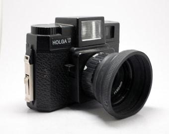 Holga with Flash 6x6 Medium Format  - Vintage Film - 120mm point shoot camera