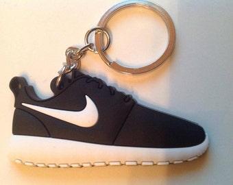 Nike Roshe run Keychain Keychain Black Black