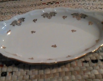 Weimar Porcelain Small Serving Dish