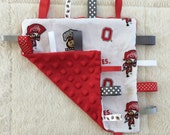 Go Nuts! Ohio Game Day Tag Blanket