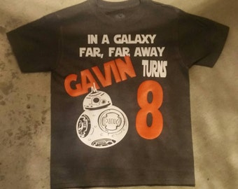BB-8 Star Wars Birthday Shirt