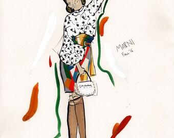 Marni Illustration A3