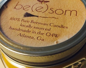 100% Pure Beeswax Candle-Jar Candle-Beeswax Candle-Mason Jar Candle-beeswax candle-natural candle