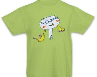 Personal drawing kids t-shirt, Art tee