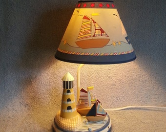 Accent Lamp - Nautical Motif - Child's Lamp