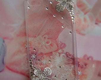 Bling Daisy Flower iphone case iphone hard case
