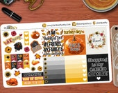 Thanksgiving Quotes & Deco Vol.2 Perfect or your Erin Condren Life Planner