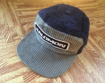 Vintage SALOMON Cold Cap Two Tone Color Made In Japan