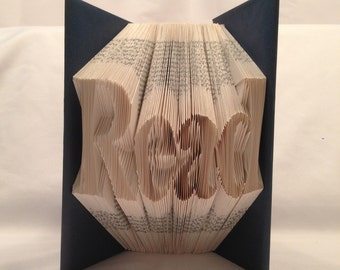 Read, Shadow book, Folded book art, gift