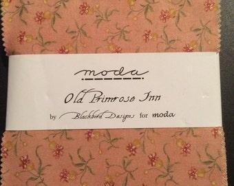 """Moda charm pack """"old primrose inn"""" vhtf opp"""